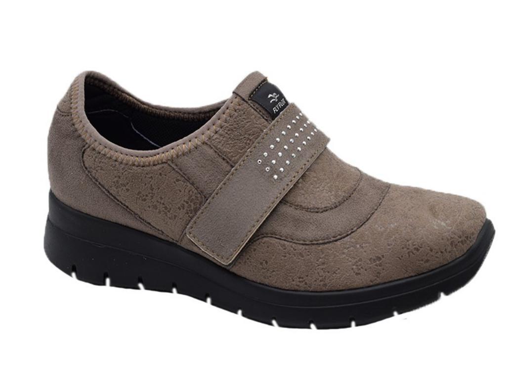 Comodos Antelina 1 Velcro Roble Zapatos Pasarela